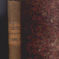 Libros antiguos: DIARIO DE SESIONES DE LAS CORTES CONSTITUYENTES 1869 - TOMOII - MADRID. Lote 52367811