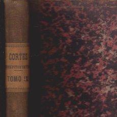 Libros antiguos: DIARIO DE SESIONES DE LAS CORTES CONSTITUYENTES 1869 - TOMO IX - MADRID 1870. Lote 52368282