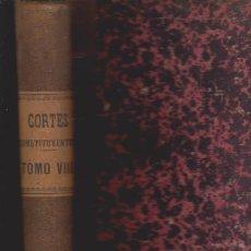 Libros antiguos: DIARIO DE SESIONES DE LAS CORTES CONSTITUYENTES 1869 - TOMO VIII - MADRID 1870. Lote 52368348