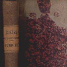 Libros antiguos: DIARIO DE SESIONES DE LAS CORTES CONSTITUYENTES 1869 - TOMO VII - MADRID 1870. Lote 52368403