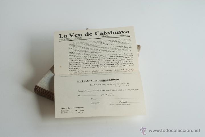 Libros antiguos: Un partit, una política - Lliga Catalana 1933 - Foto 3 - 52633481
