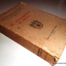 Libros antiguos: EL PENSAMIENTO DE MELLA. VOLUMEN 28 DE OBRAS COMPLETAS D. JUAN VAZQUEZ DE MELLA Y FANJUL (1942) 1ªED. Lote 51481053