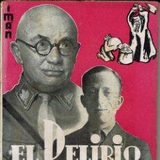 Libros antiguos: EL DELIRIO RACISTA, POR CAMILO BERNERI. Lote 52898869