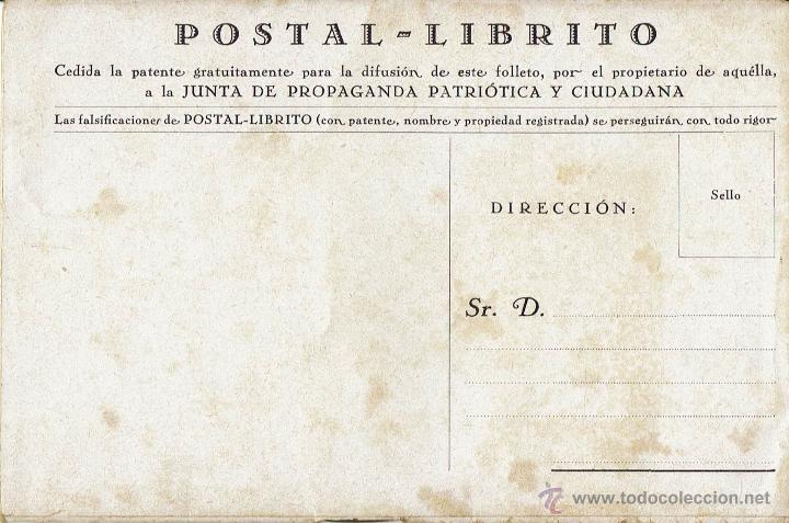 POSTAL LIBRITO. TELEGRAMA DE S.M. EL REY AL GENERAL PRIMO DE RIVERA. LA NUEVA ESPAÑA. AÑO 1929(5.2) (Libros Antiguos, Raros y Curiosos - Pensamiento - Política)