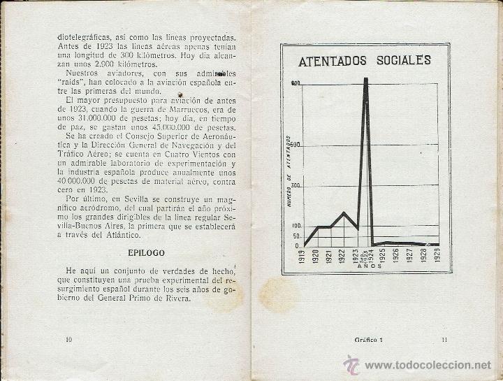 Libros antiguos: POSTAL LIBRITO. TELEGRAMA DE S.M. EL REY AL GENERAL PRIMO DE RIVERA. LA NUEVA ESPAÑA. AÑO 1929(5.2) - Foto 3 - 54568817