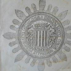 Libros antiguos: COMISSIÓ PER LA CONSERVACIÓ DEL DRET CATALÀ. 1886. DERECHO CIVIL. DRET CIVIL CATALÀ. Lote 55152698