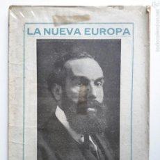 Libros antiguos: JAIME BROSSA. LA NUEVA EUROPA. CASA EDITORIAL MONCLÚS. TORTOSA, 1919.. Lote 57192386