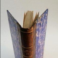 Libros antiguos: 1883 - CONSTANTINO GIL - LOS POSTERGADOS. MANUAL DE CRISIS POLÍTICAS . Lote 57261012