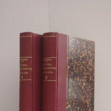 Libros antiguos: HISTÒRIA DE L'HEGEMONIA CATALANA EN LA POLÍTICA ESPANYOLA -2 VOL.-, FRANCESC PUJOLS. Lote 112469526