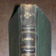 Libros antiguos: AZCARATE, GUMERSINDO DE: RESUMEN DE UN DEBATE SOBRE EL PROBLEMA SOCIAL. 1881. Lote 41711364