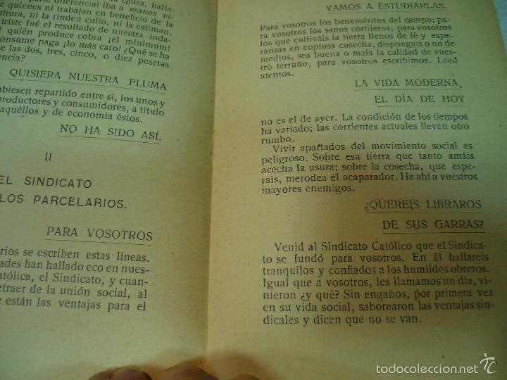 Libros antiguos: EL CONSILIARIO DEL SINDICATO C A DE ZAMBRA J. JIMENEZ MURIEL MAYO 1920 IMP.TENLLADO LUCENA - Foto 7 - 60142143