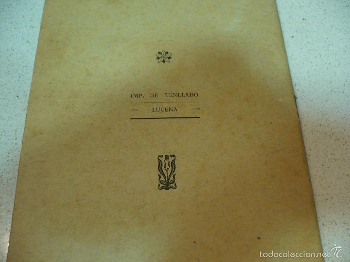 Libros antiguos: EL CONSILIARIO DEL SINDICATO C A DE ZAMBRA J. JIMENEZ MURIEL MAYO 1920 IMP.TENLLADO LUCENA - Foto 9 - 60142143