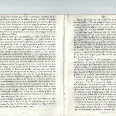 Libros antiguos: CARLISMO GALICIA MANIFIESTO DE LA DIPUTACIÓN DE PONTEVEDRA SOBRE ELECCIONES 1839. Lote 63786403
