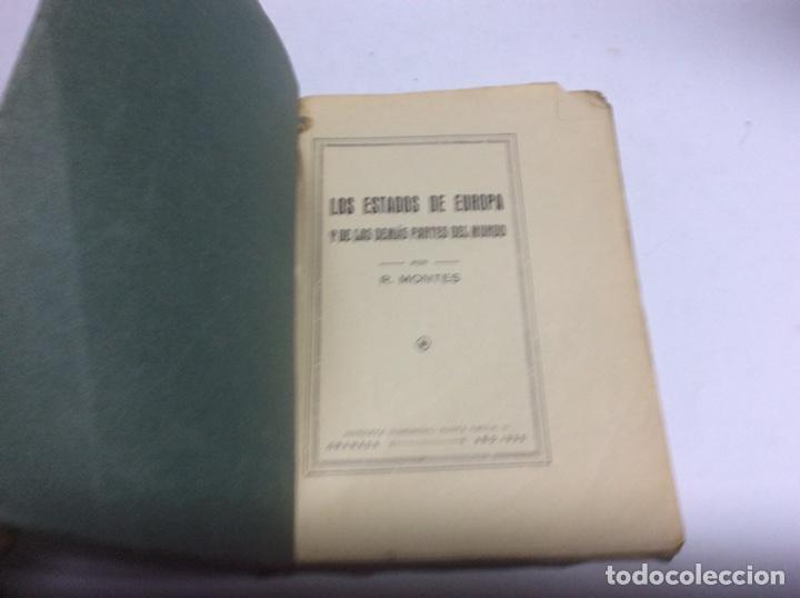 Libros antiguos: LOS ESTADOS DE EUROPA Y LAS DEMAS PARTES DEL MUNDO / RAFAEL MONTES -edicion 1935 - Foto 2 - 64175186