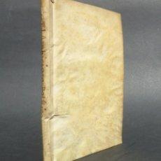 Libros antiguos: 1699 EL AMBICIOSO POLITICO INFELIZ DESCRITO, Y REPRESENTADO EN LA VIDA PERGAMINO. Lote 66005602