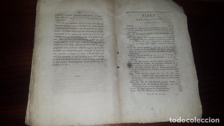 Libros antiguos: Projet DUne Constitution Religeuse. Préface par Jean Antoine Llorente. (1820) - Foto 4 - 72897811
