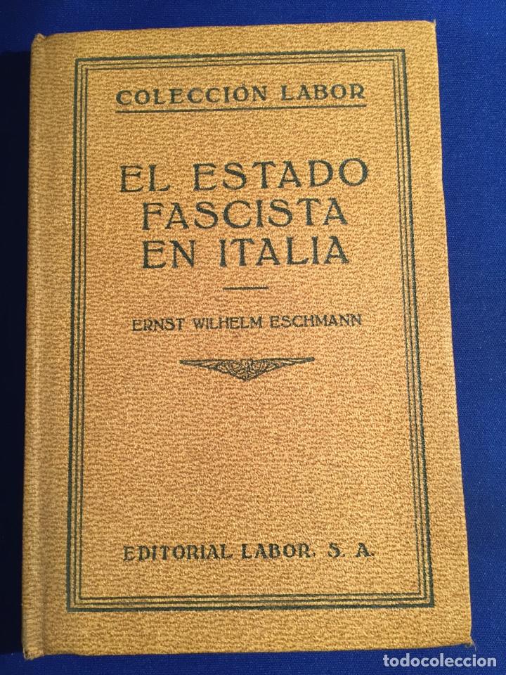 Libros antiguos: Lote de 6 libros colección Labor: años 20 - Política. - Foto 3 - 74611958
