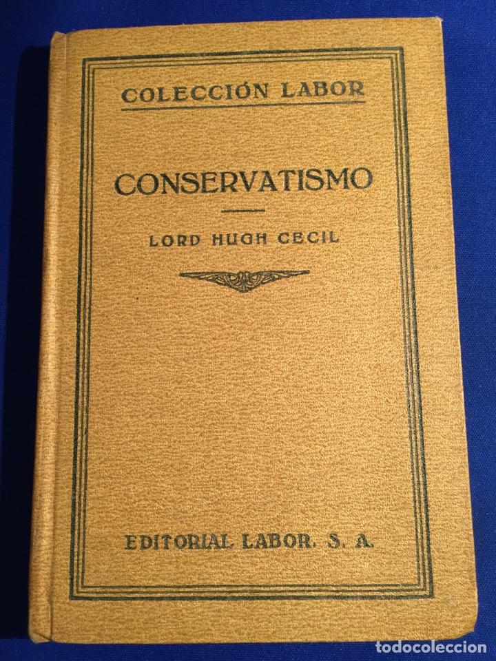 Libros antiguos: Lote de 6 libros colección Labor: años 20 - Política. - Foto 4 - 74611958
