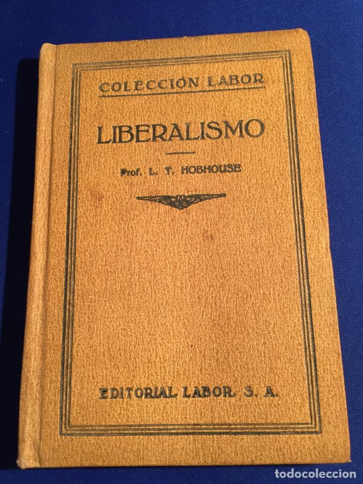 Libros antiguos: Lote de 6 libros colección Labor: años 20 - Política. - Foto 5 - 74611958