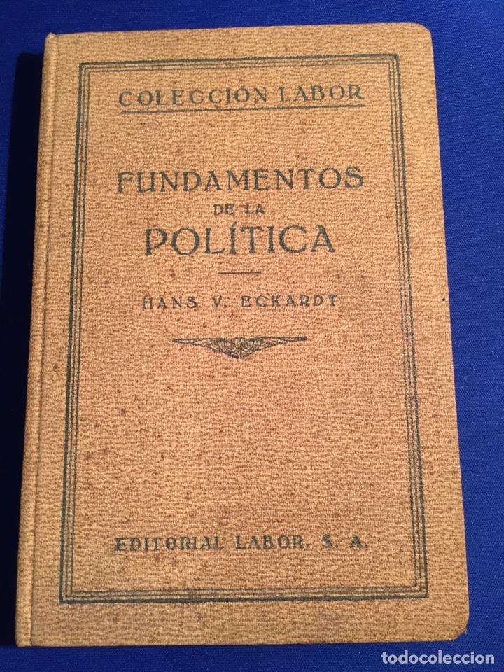 Libros antiguos: Lote de 6 libros colección Labor: años 20 - Política. - Foto 6 - 74611958