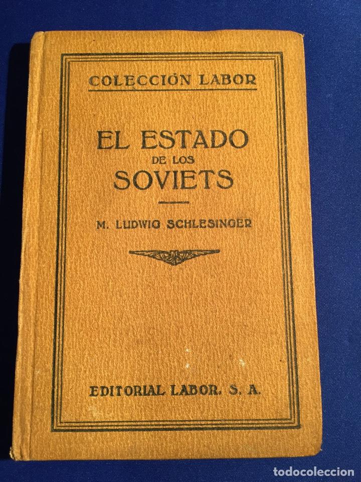 Libros antiguos: Lote de 6 libros colección Labor: años 20 - Política. - Foto 7 - 74611958