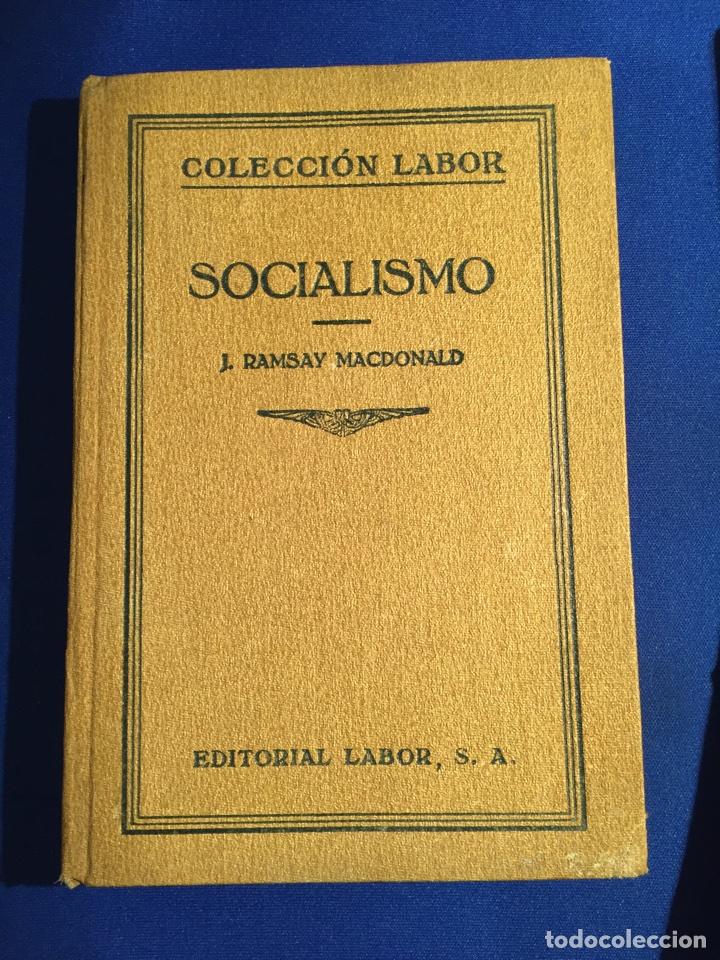 Libros antiguos: Lote de 6 libros colección Labor: años 20 - Política. - Foto 2 - 74611958