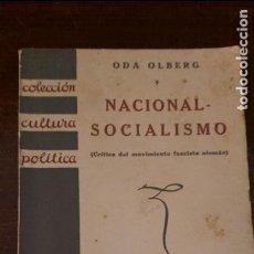 Libros antiguos: NACIONAL SOCIALISMO 1933. Lote 75529535