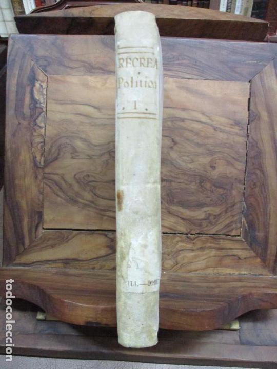Libros antiguos: RECREACIÓN POLITICA. REFLEXIONES SOBRE EL AMIGO DE LOS ... PRIMERA PARTE. NICOLAS ARRIQUIBAR. 1779. - Foto 2 - 77796929
