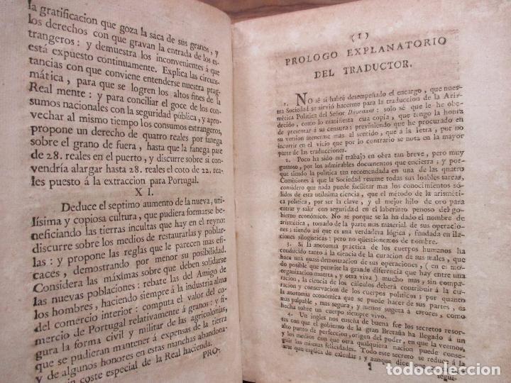 Libros antiguos: RECREACIÓN POLITICA. REFLEXIONES SOBRE EL AMIGO DE LOS ... PRIMERA PARTE. NICOLAS ARRIQUIBAR. 1779. - Foto 3 - 77796929