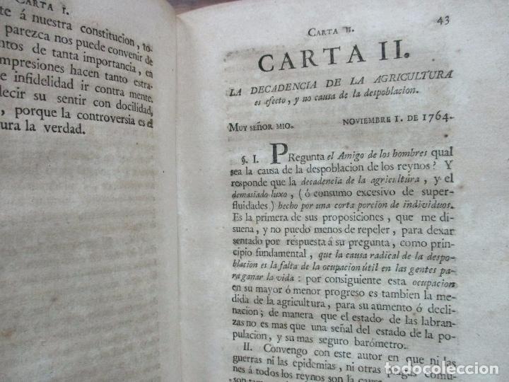 Libros antiguos: RECREACIÓN POLITICA. REFLEXIONES SOBRE EL AMIGO DE LOS ... PRIMERA PARTE. NICOLAS ARRIQUIBAR. 1779. - Foto 5 - 77796929