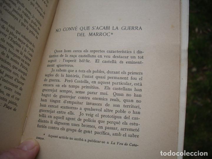 Libros antiguos: J.Vallès i Pujals: DE LA VIDA I DEL GOVERN D'ESPANYA, 1923 , dedicat i signat - Foto 4 - 78527433