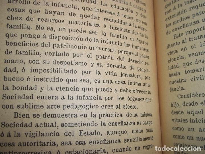 Libros antiguos: ANSELMO LORENZO.EL PUEBLO.ESTUDIO LIBERTARIO.SEMPERE 1909.ANARQUISMO.CNT. - Foto 5 - 80898383