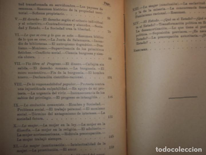 Libros antiguos: ANSELMO LORENZO.EL PUEBLO.ESTUDIO LIBERTARIO.SEMPERE 1909.ANARQUISMO.CNT. - Foto 7 - 80898383