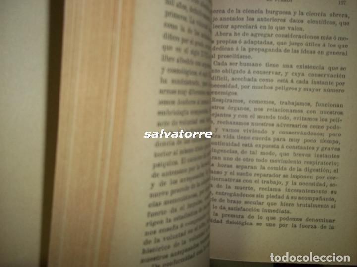 Libros antiguos: ANSELMO LORENZO.EL PUEBLO.ESTUDIO LIBERTARIO.SEMPERE 1909.ANARQUISMO.CNT. - Foto 8 - 80898383