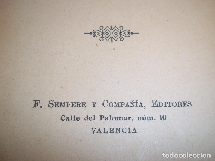 Libros antiguos: ANSELMO LORENZO.EL PUEBLO.ESTUDIO LIBERTARIO.SEMPERE 1909.ANARQUISMO.CNT. - Foto 9 - 80898383