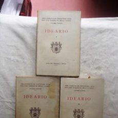 Libros antiguos: OBRAS COMPLETAS JUAN VAZQUEZ DE MELLA Y FANJUL IDEARIO 3 TOMOS. Lote 82770932