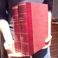 Libros antiguos: REVISTA BLANCO Y NEGRO 1918. 51 REVISTAS. 2 TOMOS. Lote 84788108