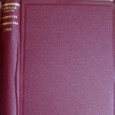 Libros antiguos: DEVILLE, GABRIEL (1854-1940). PRINCIPIOS SOCIALISTAS. [EL SOCIALISMO CIENTÍFICO... 1931.. Lote 86812664