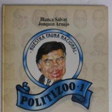 Libros antiguos: SALVAT/ARAÚJO - POLITIZOO 1 - NUESTRA FAUNA NACIONAL. ASESA. Lote 87129876