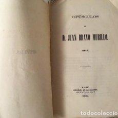 Libros antiguos: BRAVO MURILLO: OPÚSCULOS. II. (M., 1864) LA PASIÓN POLÍTICA; DE LA SOBERANÍA; DE LA UNIÓN LIBERAL. Lote 87513404