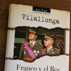 Libros antiguos: FRANCO YEL REY. Lote 90057448