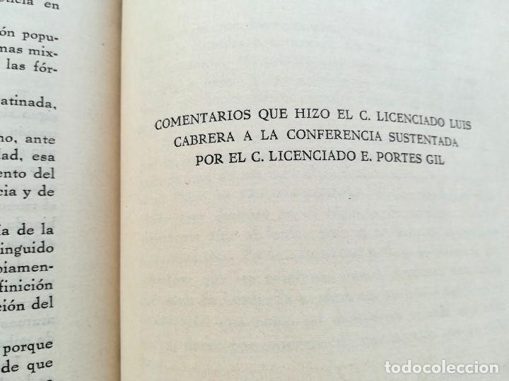 Libros antiguos: LIBRO,LA MISION CONSTITUCIONAL DEL PROCURADOR,AÑO 1932,FIRMA PRESIDENTE DE MEXICO EMILIO PORTES GIL - Foto 6 - 94537675
