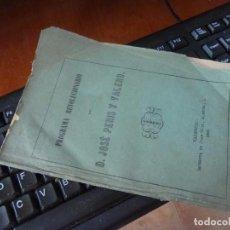 Libros antiguos: PROGRAMA REVOLUCIONARIO, POR JOSE PERIS Y VALERO, VALENCIA 1868. Lote 98887127
