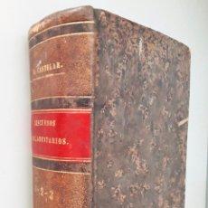 Libros antiguos: DISCURSOS PARLAMENTARIOS DE EMILIO CASTELAR EN LA ASAMBLEA CONSTITUYENTE TOMO I,II Y III 1873. Lote 99896523