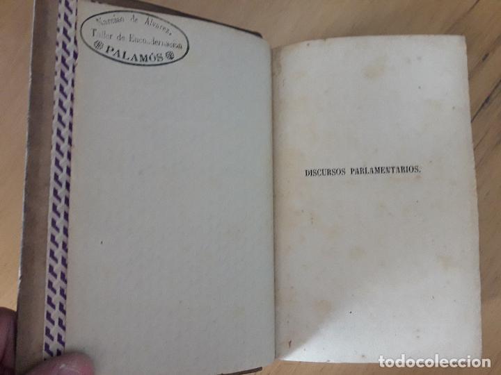 Libros antiguos: Discursos Parlamentarios de Emilio Castelar en la Asamblea constituyente Tomo I,II y III 1873- 411 - Foto 5 - 99896523