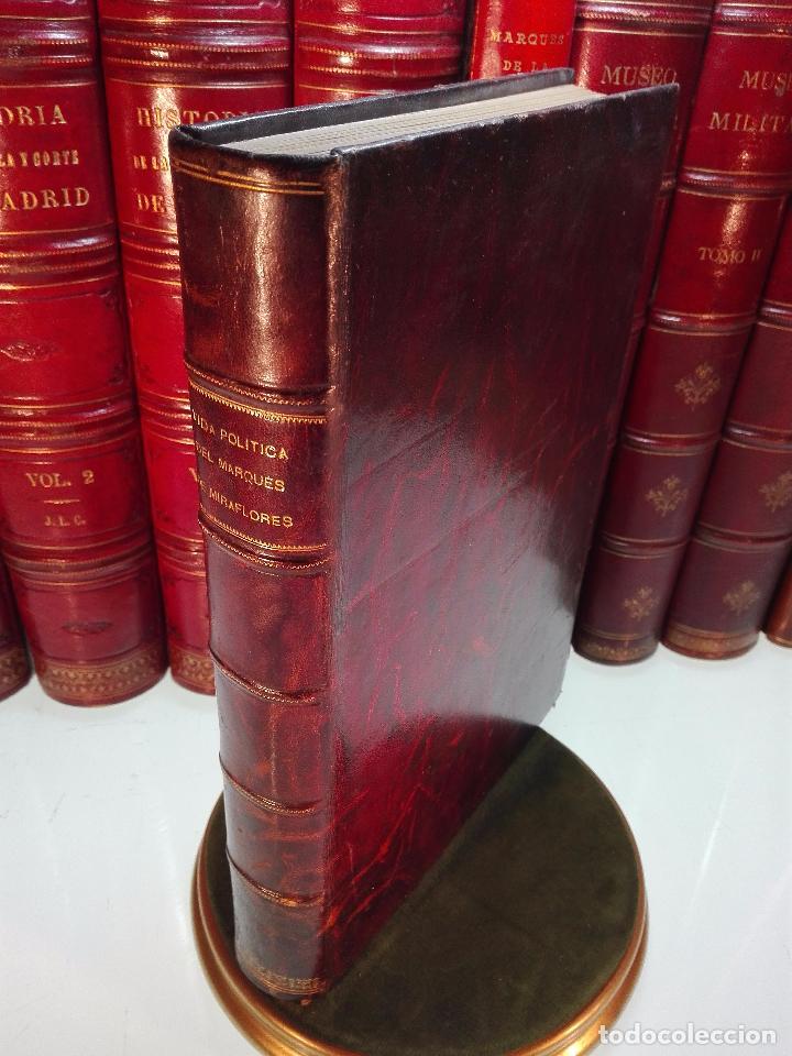 VIDA POLÍTICA DEL MARQUES DE MIRAFLORES ESCRITA POR EL MISMO - MADRID - 1865 - (Libros Antiguos, Raros y Curiosos - Pensamiento - Política)