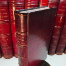 Libros antiguos: VIDA POLÍTICA DEL MARQUES DE MIRAFLORES ESCRITA POR EL MISMO - MADRID - 1865 -. Lote 101319907