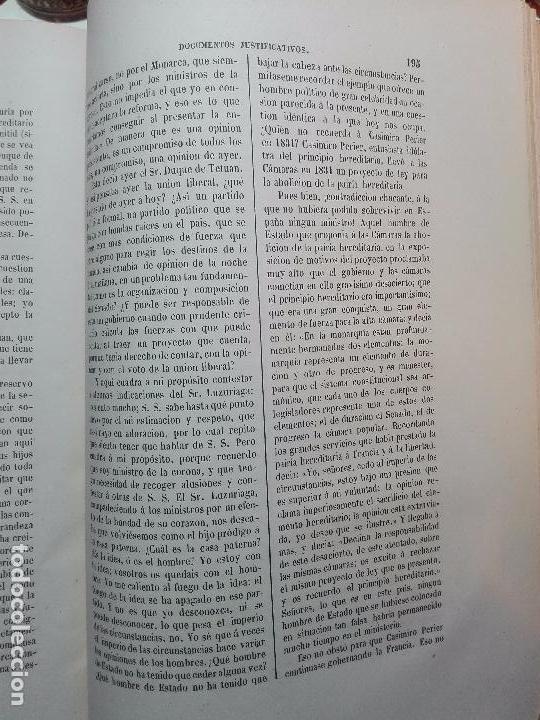 Libros antiguos: VIDA POLÍTICA DEL MARQUES DE MIRAFLORES ESCRITA POR EL MISMO - MADRID - 1865 - - Foto 7 - 101319907