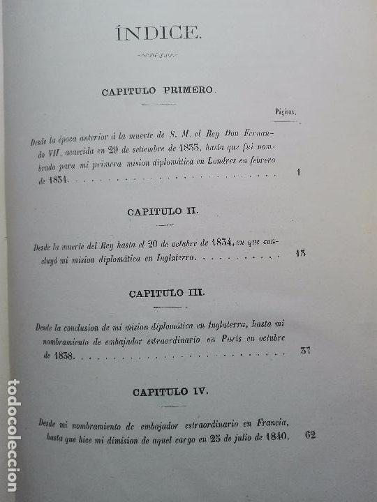 Libros antiguos: VIDA POLÍTICA DEL MARQUES DE MIRAFLORES ESCRITA POR EL MISMO - MADRID - 1865 - - Foto 8 - 101319907
