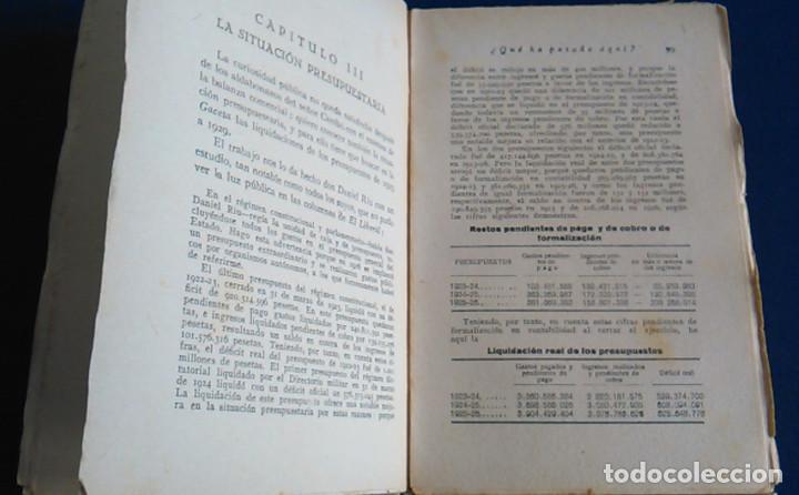 Libros antiguos: ¿Qué ha pasado aquí? Francisco Villanueva. 1930, 2ª edición. - Foto 3 - 105676079